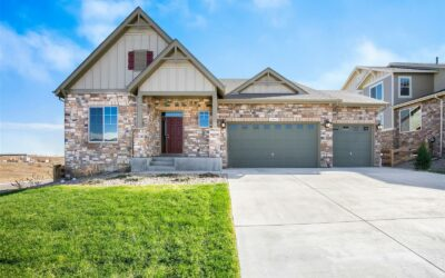 ACTIVE – Model Ranch Home With Panoramic Views in Leyden Rock!